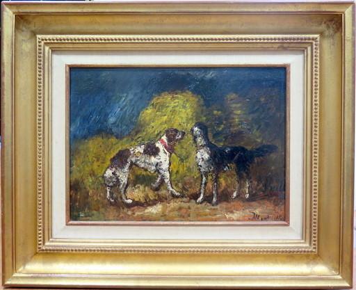 Adolphe MONTICELLI - Pintura - Les deux compagnons