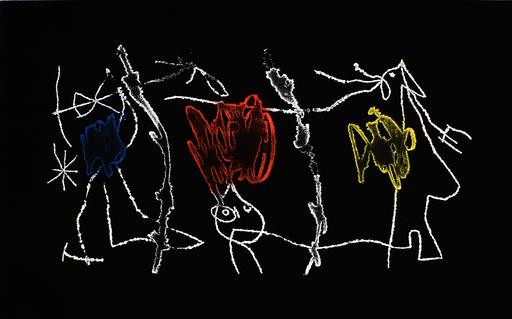 胡安·米罗 - 版画 - Catalan Night | Nocturn Catala