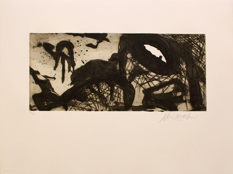 Emil SCHUMACHER - Estampe-Multiple - 9/1992