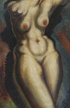 亚历山大·阿尔西品科 - 绘画 - Nude