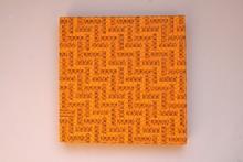 Mimmo IACOPINO - Painting - Metri per sarti su tela