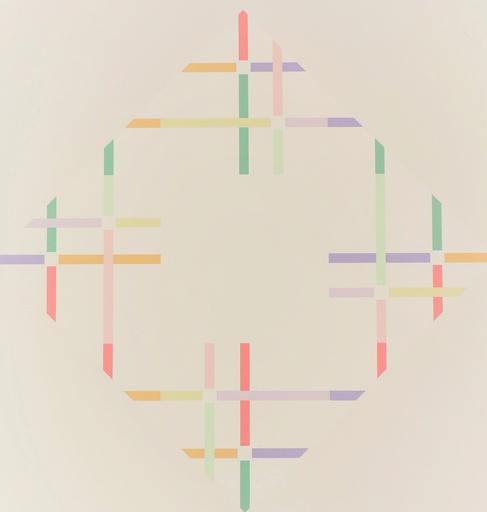 Shizuko YOSHIKAWA - Druckgrafik-Multiple - zwei energien B