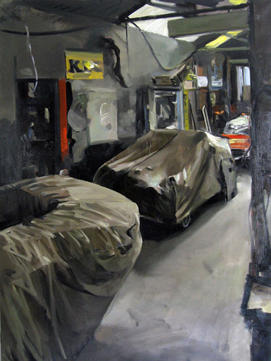 Christoff DEBUSSCHERE - Pintura - La Morgan