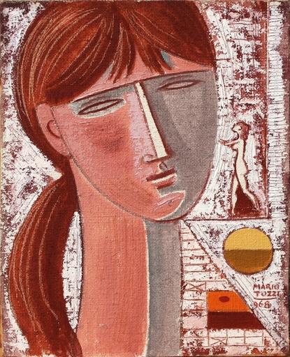 Mario TOZZI - Peinture - L'ultimo abbraccio