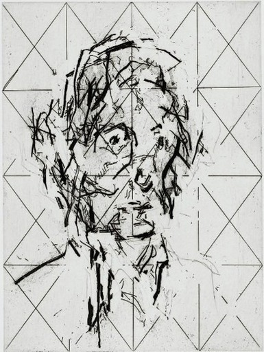 Frank AUERBACH - Stampa-Multiplo - Ruth