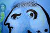 Marc CHAGALL - Print-Multiple - The Blue Village (Second State) | Le village bleu (2e état)