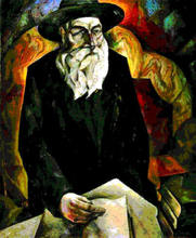 Natan Isaevich ALTMAN - Pintura - Portrait of an old Jew (Uncle of the artist)