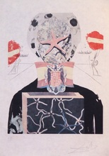 Salvador DALI - Stampa Multiplo - Surrealistic King, 1971 (From the Memories of Surrealism)