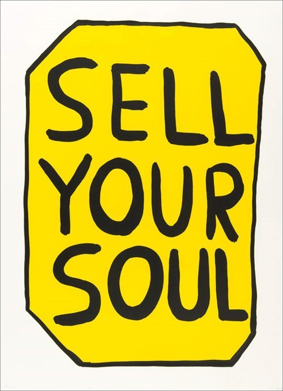 David SHRIGLEY - Print-Multiple - Sell your soul