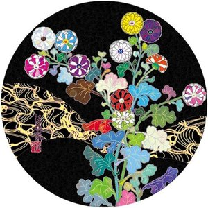 Takashi MURAKAMI - Grabado - Kansai Wildflowers Glowing