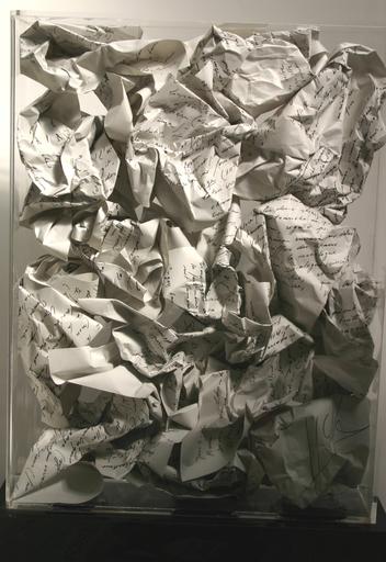 Fernandez ARMAN - Escultura - Poubelle du poète