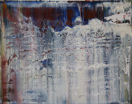 Harry James MOODY - Peinture - abstract grey zone No.430