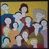 Harry BARTLETT FENNEY - Pittura - the inhabitants