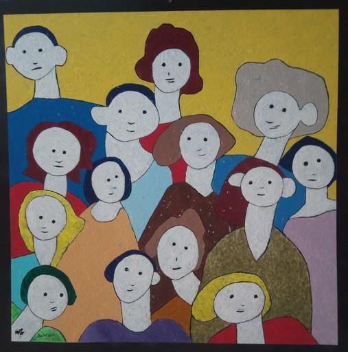 Harry BARTLETT FENNEY - Peinture - the inhabitants