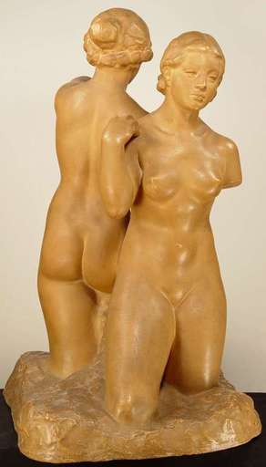 Bretislav BENDA - Keramiken - Two Nudes Back to Back