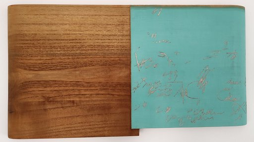 Masaya EGUCHI - 绘画 - Two Painting (Bourdaine and Cribbling)