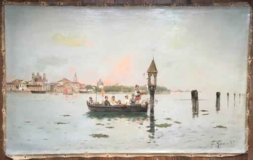 Gustave RICARD - Pintura - Venecia
