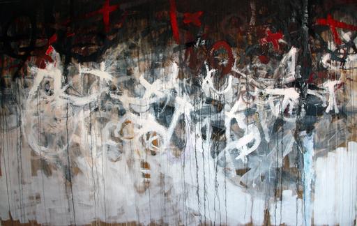 Kakhaber TATISHVILI - Pintura - Composition