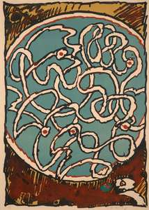 Pierre ALECHINSKY - Print-Multiple - LABYRINTHE D APPARAT III