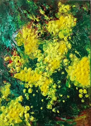 Vanecha ROUDBARAKI - Gemälde - Mimosa