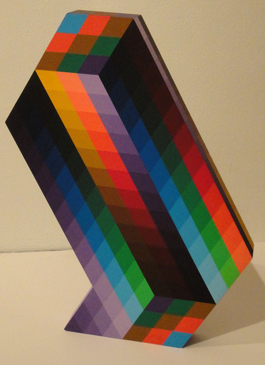 维克多•瓦沙雷利 - 雕塑 - Torony