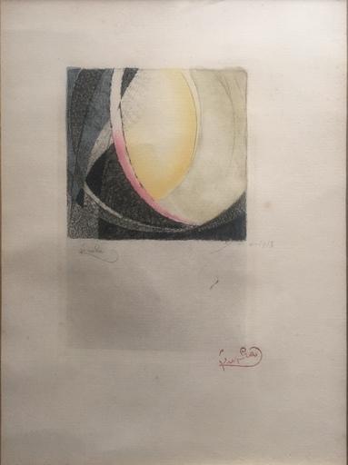 弗兰提斯克•库普卡 - 版画 - LA COMPOSITION 88