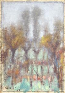 Ardengo SOFFICI - Peinture - Bruma Auttunale