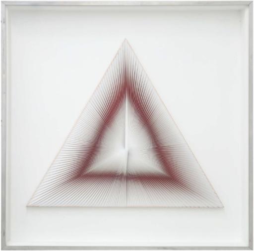 Alberto BIASI - Painting - Dinamica triangolare