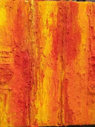 Marcello LO GIUDICE - Painting - ORANGE VULCANO