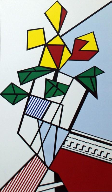 Roy LICHTENSTEIN - Stampa-Multiplo - Flowers