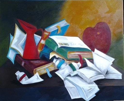 Romeo MESISCA - Pittura - Composizione interna