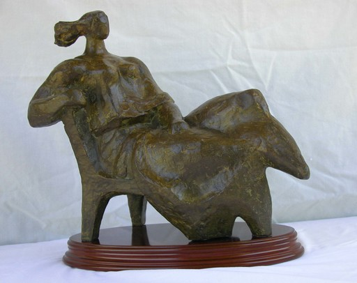 Joaquin Garcia DONAIRE - 雕塑 - Mediterránea o Proserpina frente al mar