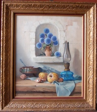 Robert CHAILLOUX (1913-2006) - Nature morte aux chardons