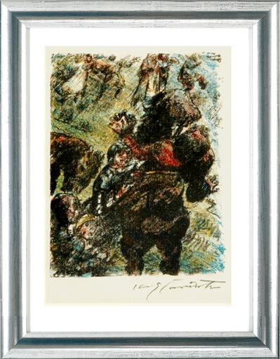 Lovis CORINTH - Print-Multiple - Wilhelm Tell. Gesslers Tod, 1923