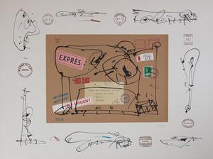 Antonio SAURA - Druckgrafik-Multiple - Francisco de Goya (WCC280)