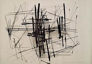 Claudio CINTOLI - Painting - Appunti per una rete spaziale