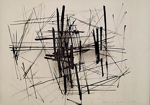 Claudio CINTOLI - Pittura - Appunti per una rete spaziale