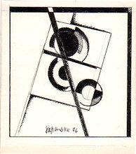 Heinrich SIEPMANN - Dessin-Aquarelle - o.T. (Konstruktivistische Komposition)