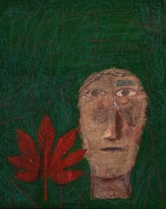 Mimmo PALADINO - Painting - Etrusco 1