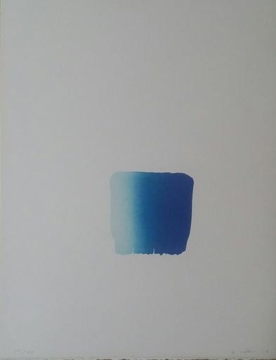 Ufan LEE - Druckgrafik-Multiple - Composition  bleue