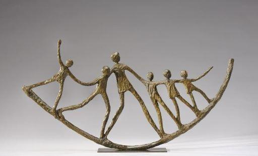 Sylvie DERELY - Sculpture-Volume - La Farandole
