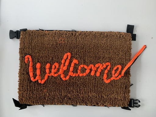 BANKSY - Sculpture-Volume - Banksy Welcome Mat by Lovewelcomes (2nd séries)