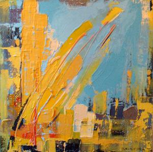 Ursula ULESKI - Peinture - Jeune abondance
