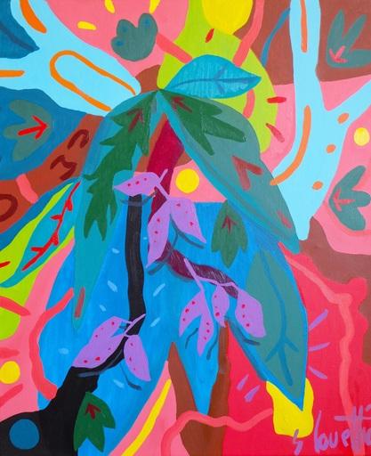 Sébastien COUEFFIC - 绘画 - les fleurs sauvages 1