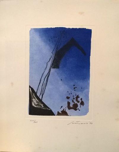 """Giuseppe SANTOMASO - Grabado - """"Canti Pisani"""""""