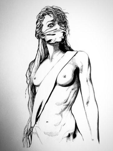 MOG - Disegno Acquarello - Marianne