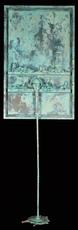 Paul SIBUET - Sculpture-Volume - Flow 106 - Marbre vert de gris