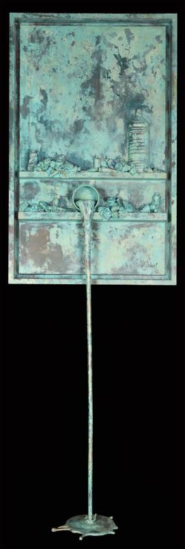 Paul SIBUET - Escultura - Flow 106 - Marbre vert de gris