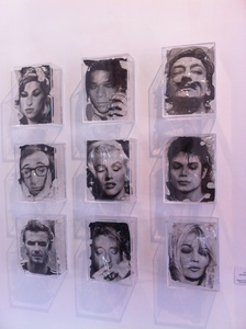 Yves HAYAT - Sculpture-Volume - LES ICONES SONT FATIGUEES