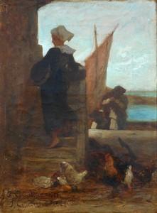 Jules Cornilliez CORNILLIET - Pintura - CONCARNEAU